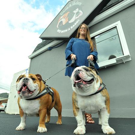 Bane and Vaders Doggie Drive Thru on Animal Radio