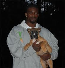 Michael Vick and New Dog Puppy