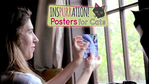 InsPurrational cat posters and Mo Golden on Animal Radio