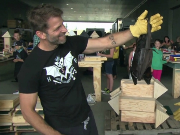 Zack Snyder and his bat house