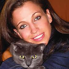 Wendy Diamond and Cat